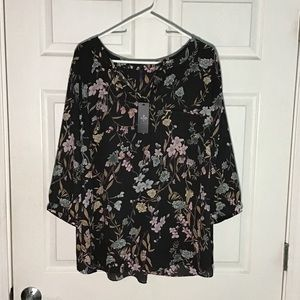 NYDJ floral top